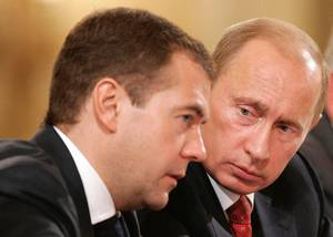 Medwedew-und-Putin