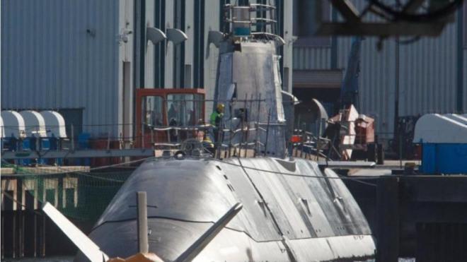 U-Boot Tanin auf dem Weg Israelk